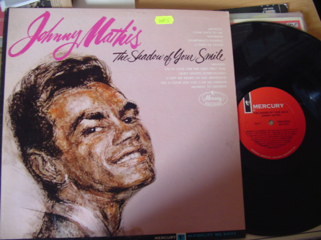 JOHNNY MATHIS - SHADOW OF SMILE - MERCURY MONO