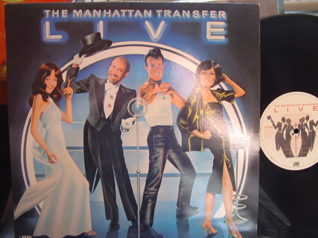MANHATTAN TRANSFER - LIVE - ATLANTIC