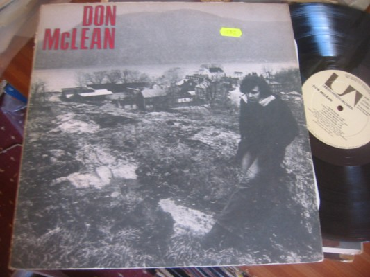 DON McLEAN - SELF TITLE - U A RECORDS 1972