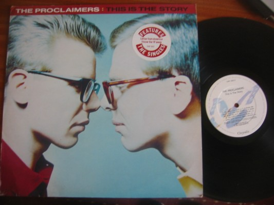 THE PROCLAIMERS - THIS IS THE STORY - CHRYSALIS 1987