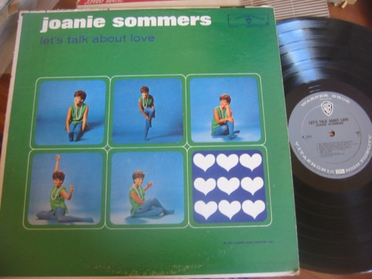 JOANIE SOMMERS - LETS TALK ABOUT LOVE - WARNER MONO