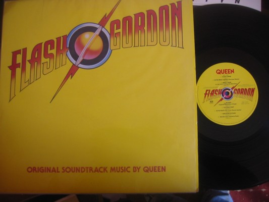 QUEEN - FLASH GORDON - SOUNDTRACK - EMI UK