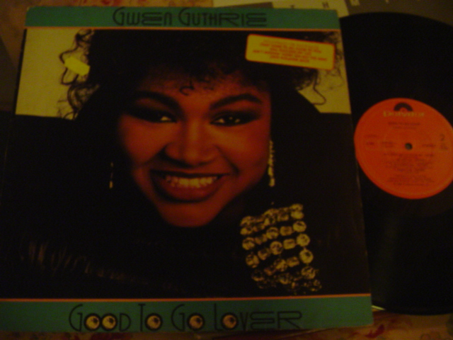 GWEN GUTHRIE - GOOD TO GO LOVER - POLYDOR BRAZIL