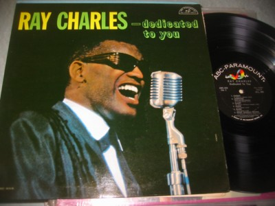 RAY CHARLES - DEDICATED TO YOU - ABC { J 1012