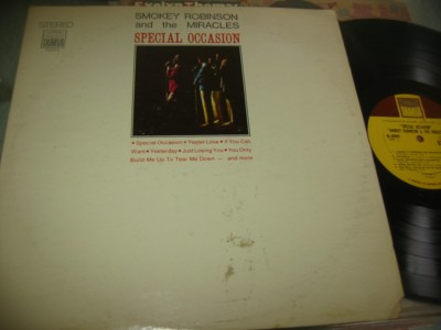 SMOKEY ROBINSON & MIRACLES - SPECIAL OCCASION - TAMLA