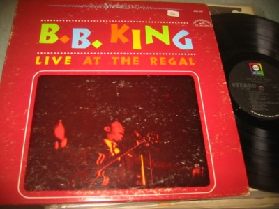 B.B. KING - LIVE AT THE REGAL - ABC J 1027