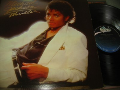 MICHAEL JACKSON - THRILLER - EPIC { J 1037