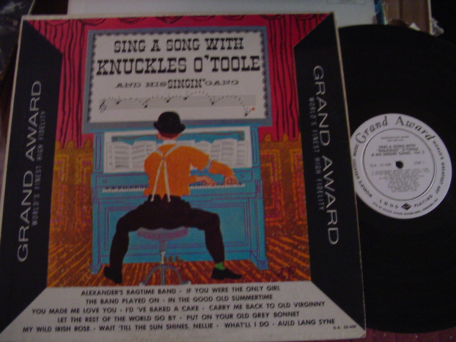 Knuckles O'Toole - Sing Along - Grand Award Promo Demo 1960s