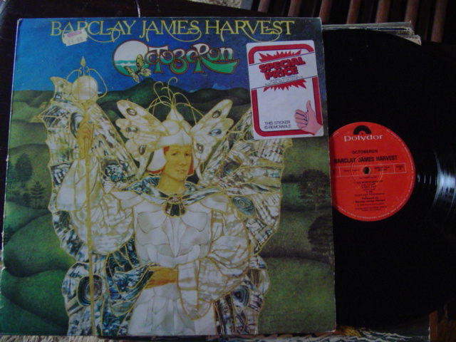 BARCLAY JAMES HARVEST - OCTOBERON - POLYDOR