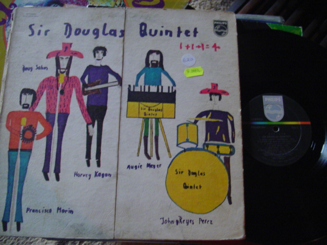 SIR DOUGLAS QUINTET - 1+1+1 = 4 - PHILIPS