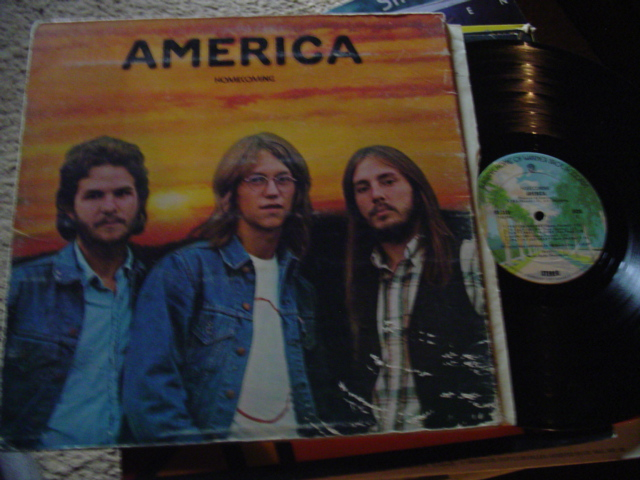AMERICA - HOMECOMING - WARNER 1972