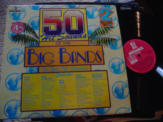 Dave Pell Orchestra - 50 BIG BAND HITS - PICKWICK 2LP