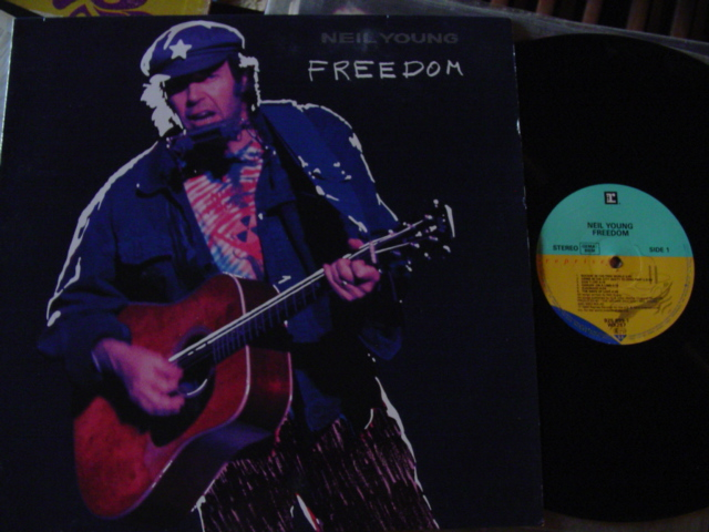 NEIL YOUNG - FREEDOM - REPRISE 1989