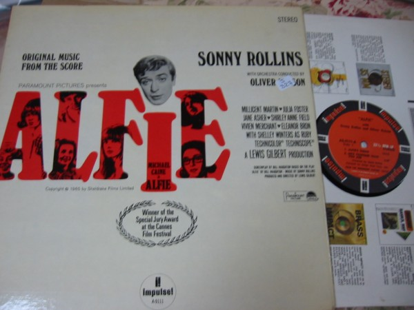 SONNY ROLLINS - ALFIE - IMPULSE STEREO SOUNDTRACK - J 327