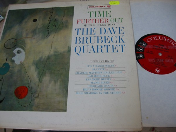 Dave Brubeck - Time Further Out - Columbia 6 Eye Stereo 1961