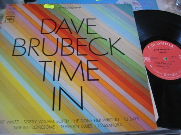 Dave Brubeck - Time In - Columbia 2 Eye Stereo 1960s