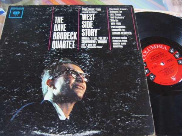 DAVE BRUBECK - WEST SIDE STORY - COLUMBIA 6 EYE 348
