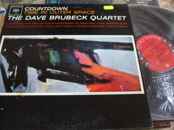 DAVE BRUBECK - TIME OUTER SPACE -COLUMBIA PROMO 349