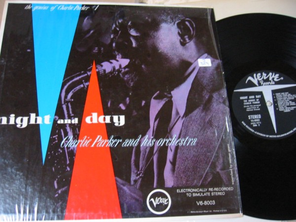 CHARLIE PARKER - NIGHT & DAY # 1 - VERVE IN SHRINK - J 329