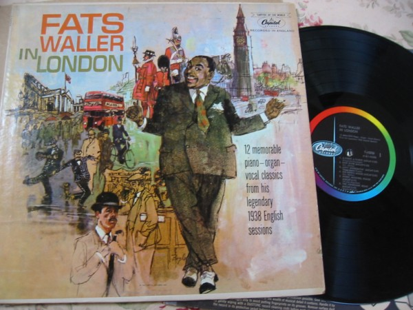 Fats Waller - In London - Capitol Mono 1961
