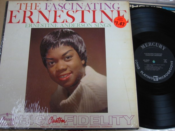Ernestine Anderson - The Fascinating - Mercury 1959 Mono