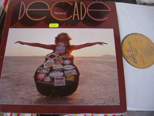 NEIL YOUNG - DECADE REPRISE 3LP - 1976