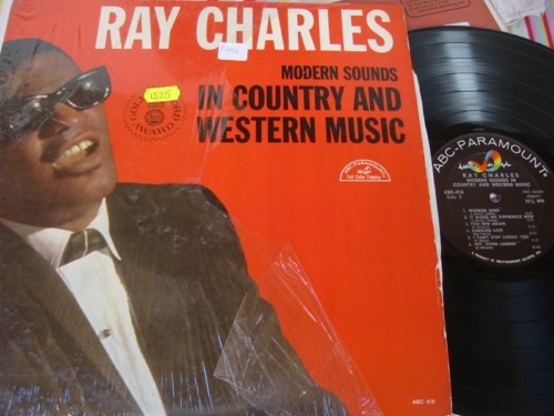 RAY CHARLES - COUNTRY & WESTERN - ABC