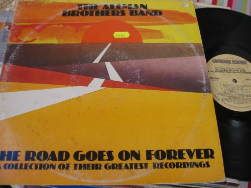 ALLMAN BROTHERS - ROAD GOES ON - CAPRICORN 2LP