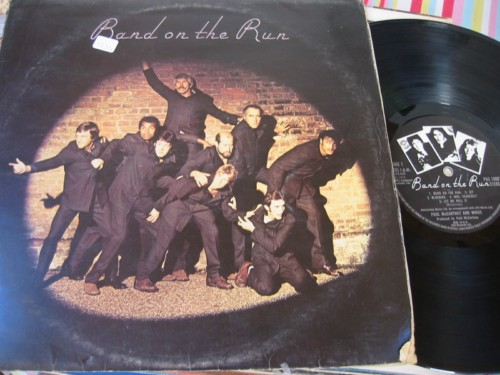 WINGS - BAND ON THE RUN - EMI UK + POSTER