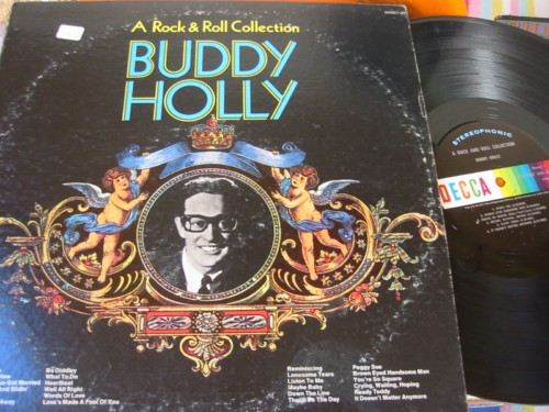BUDDY HOLLY - ROCK & ROLL COLLECTION - DECCA 2LP