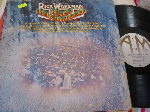 RICK WAKEMAN - JOURNEY TO CENTER EARTH - A & M