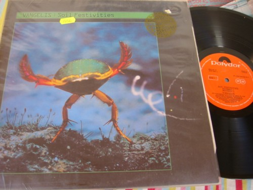 VANGELIS - SOIL FESTIVITIES - POLYDOR IRISH PRESS