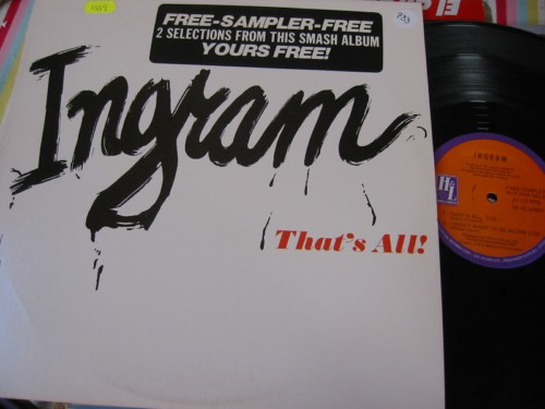 Ingram - That's All / I Don't Want To Be Alone - PROMO