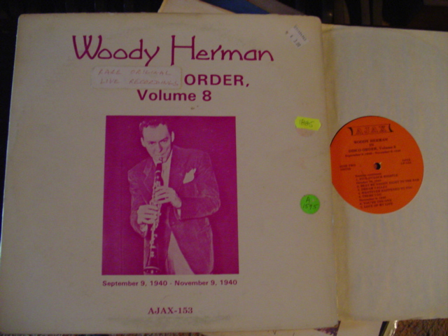 WOODY HERMANN - LIVE RECORDING 1940 - AJAX