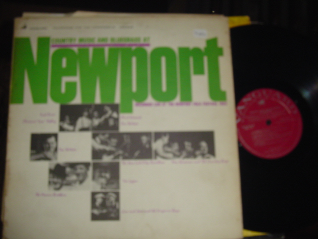VARIOUS - COUNTRY MUSIC & BLUEGRASS - NEWPORT 1963 VANGUARD