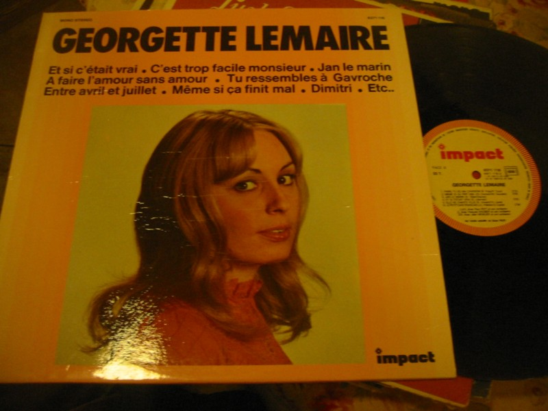 GEORGETTE LEMAIRE - SELF TITLE - IMPACT