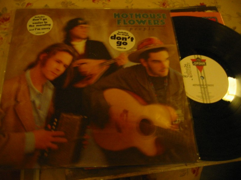 HOTHOUSE FLOWERS - PEOPLE - LONDON RECORDS 1988