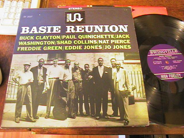 VARIOUS ARTISTS - BASIE REUNION - SWINGVILLE - J 474