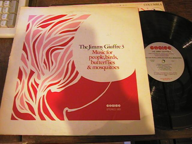 JIMMY GIUFFRE - PEOPLE BIRDS ECT - SIGNED - CHOICE - J 477