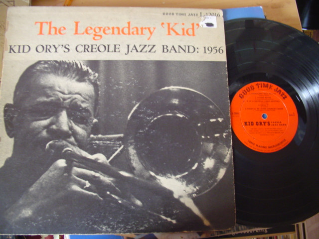 KID ORY - LEGENDARY KID - GOOD TIME JAZZ 1956