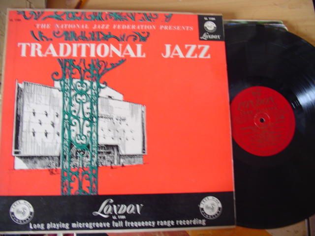 VARIOUS - TRADITIONAL JAZZ FESTIVAL HALL - LONDON LL 1184