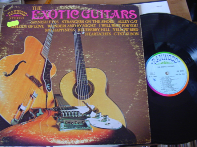AL CASEY - THE EXOTIC GUITARS - RAINWOOD PROMO