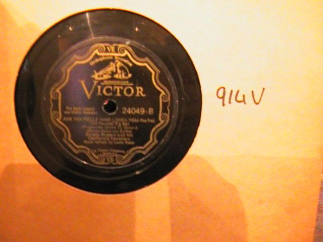 BUDDY RODGERS - VICTOR SCROLL 24049 - { 914V