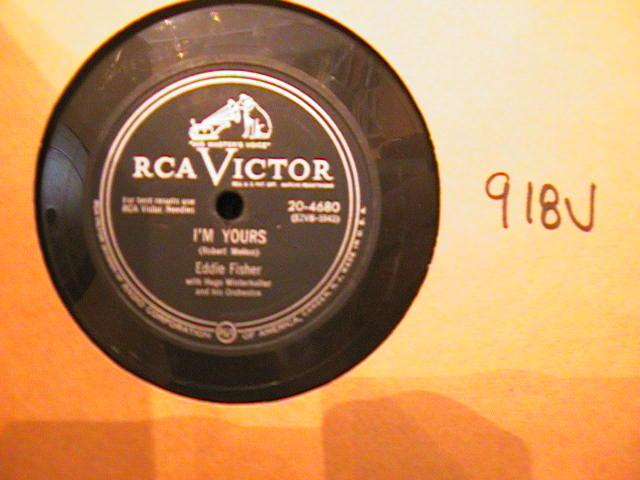 EDDIE FISHER - VICTOR 20- 4680 - { 918V