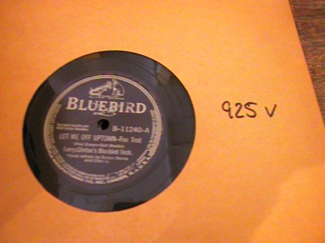 LARRY CLINTON - RCA BLUEBIRD B 11240 - { 925V