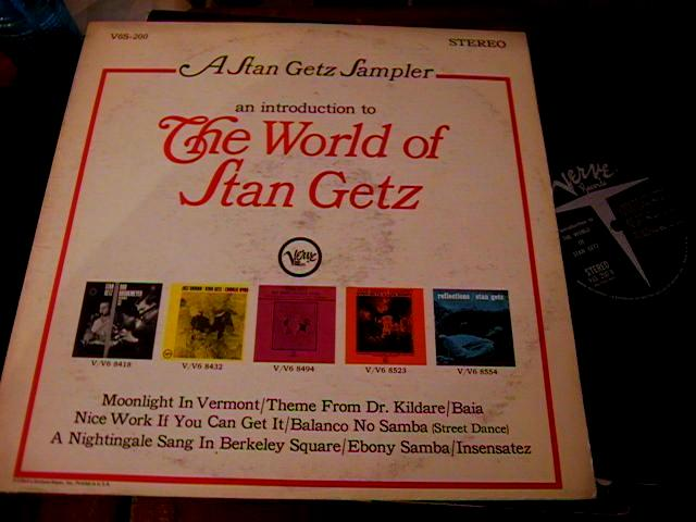 STAN GETZ - THE WORLD OF - VERVE - J 428