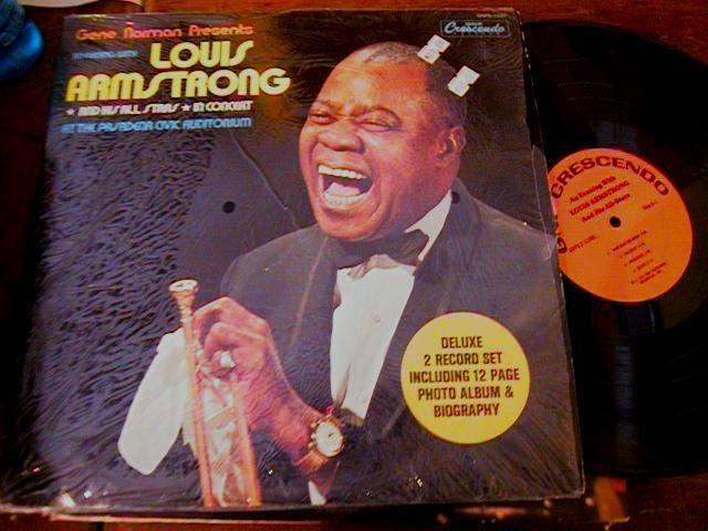 LOUIS ARMSTRONG - IN CONCERT - 2LP GNP - J 421
