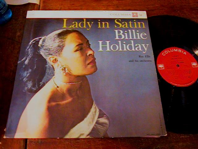 BILLIE HOLIDAY - LADY IN SATIN - COLUMBIA - J 440