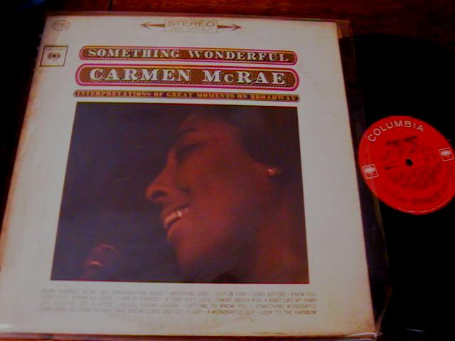CARMEN McRAE - SOMETHING WONDERFULL - COLUMBIA - J 439