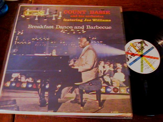 COUNT BASIE - BREAKFAST DANCE BARBECUE - ROULETTE - J 436